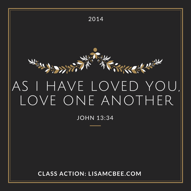 Love One Another John 13:34
